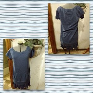 Gifted,...Hugs Ambassador Denim sweatshirt dress